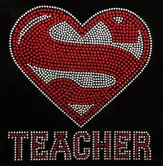 Super Teacher Shirt, Super Teacher Team Shirts, T shirt for Teachers, Teacher Back To School Shirt, Super Teacher Rhinestone Shirt For Teachers
