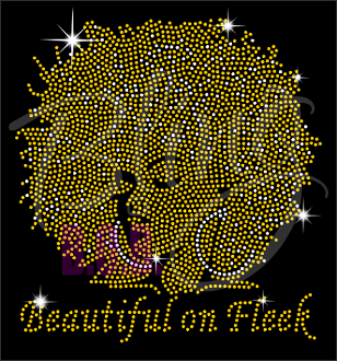Beautiful On Fleek Shirt, Crew Neck Shirt, Rhinestone Shirts, Bling Shirts, BLM Shirt,