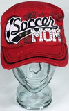 Soccer Mom Hat, Soccer Hat, Rhinestone Hat, Embroidered Hats, Rhinestone Cap, Hats, Caps
