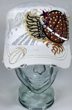 Basketball Wings Hat, Basketball Hat, Rhinestone Hat, Embroidered Hats, Rhinestone Cap, Hats, Caps