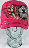 Soccer Wings Hat, Soccer Hat, Rhinestone Hat, Embroidered Hats, Rhinestone Cap, Hats, Caps