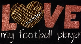 Football Shirt, Football Shirt Kids, Football Rhinestone Shirt , Football t shirt, Football Gift, Football Season Shirt