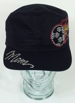 Soccer Mom Fire Rhinestone Hat, Soccer Hat, Rhinestone Hat, Embroidered Hats, Rhinestone Cap, Hats, Caps