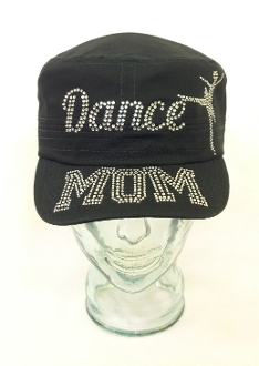 Dance Mom Rhinestone Hat, Dance Hat, Rhinestone Hat, Embroidered Hats, Rhinestone Cap, Hats, Caps