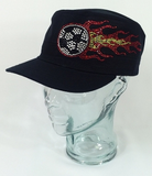 Soccer On Fire Rhinestone Hat, Soccer Hat, Rhinestone Hat, Embroidered Hats, Rhinestone Cap, Hats, Caps