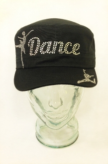 Dance Rhinestone Hat, Dance Hat, Rhinestone Hat, Embroidered Hats, Rhinestone Cap, Hats, Caps