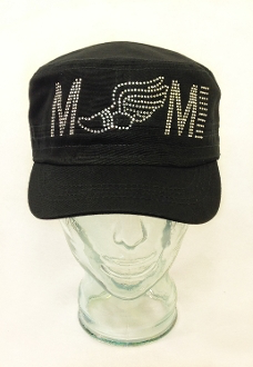 Track Shoe Mom Rhinestone Hat, Track Hat, Rhinestone Hat, Embroidered Hats, Rhinestone Cap, Hats, Caps