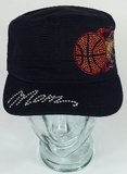 Basketball Mom Fire Hat, Basketball Hat, Rhinestone Hat, Embroidered Hats, Rhinestone Cap, Hats, Caps