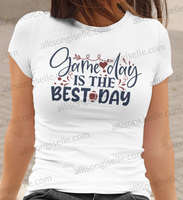 Game Day Is The Best Day Football Shirt, Football Shirt, Football Shirt Women, Crew Neck Women Shirt, Football t shirt, Football t shirt Women