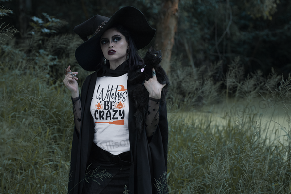 Witches Be Crazy Shirt, Halloween Shirt, Witch Shirt, Halloween Costume
