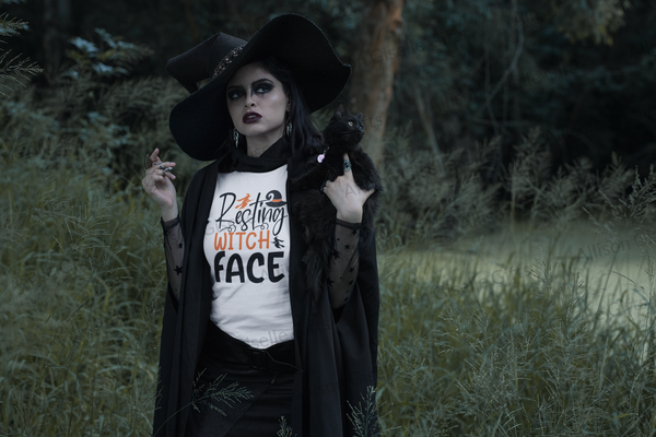 Resting Witch Face Shirt, Halloween Shirt, Witch Shirt, Halloween Costume