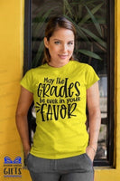 May the Grades Be Ever In Your Favor Teacher Shirts, Shirt For Teacher, Teacher Shirt, Teacher t shirt, Teacher Gifts