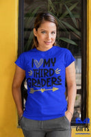 I Love My 3rd Graders Teacher Shirt, Teacher Shirt, 3rd Grade Teacher Shirt, T shirt for Teachers, Teacher Back To School Shirt
