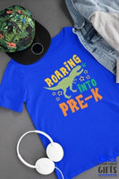 Roaring Into Pre-K Shirt -Pre-K Boy Shirt - Personalized Pre-K Shirt - Back To School Shirt - Personalized Pre-K t shirt
