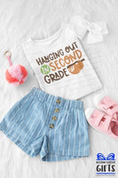 Hanging Out In 2nd Grade Shirt -2nd Grade Shirt - Personalized 2nd Grade Shirt - Back To School Shirt - Personalized 2nd Grade t shirt
