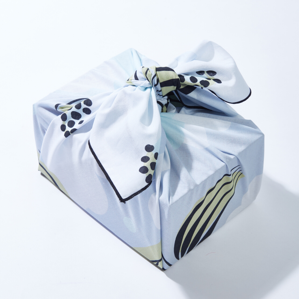 Large Reusable Gift Wrap - Laila Floral Print