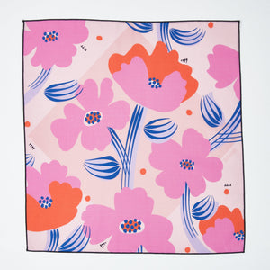 Load image into Gallery viewer, Small Reusable Gift Wrap - Maureen Floral Print