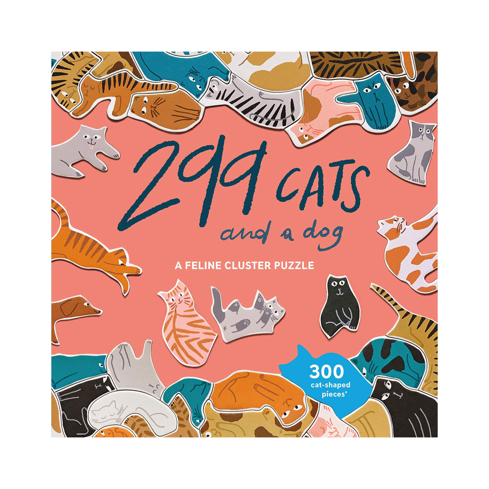 299 Cats (and a dog) Puzzle