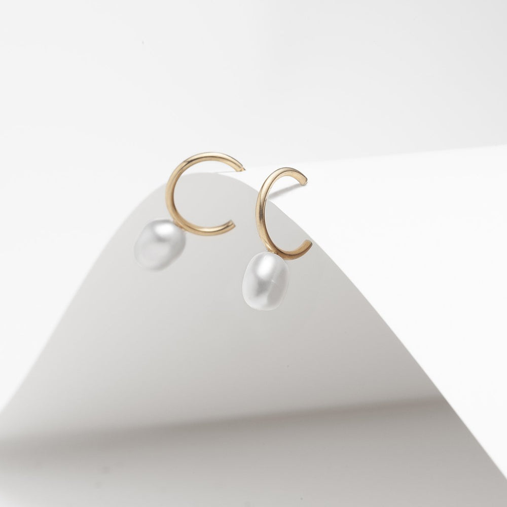 Asteria Pearl Earrings