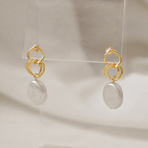 Clio Pearl Earrings