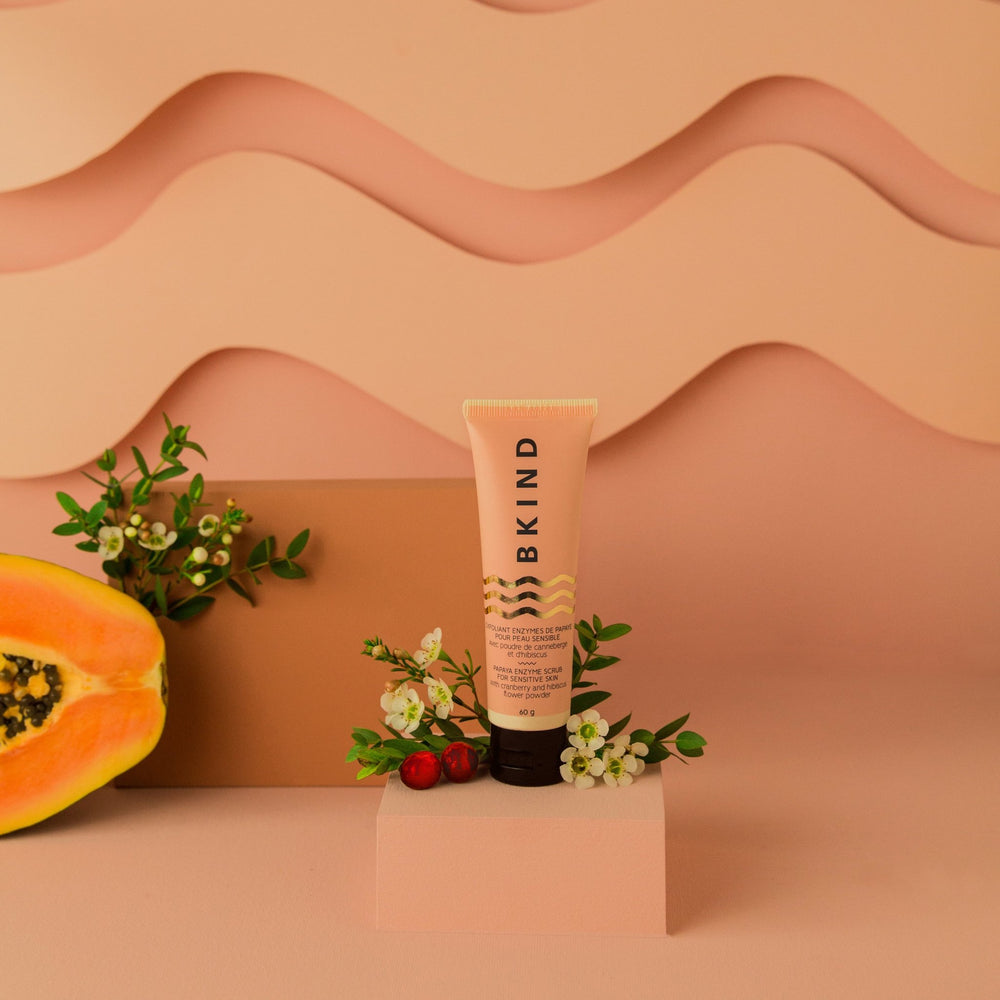 Papaya Enzyme Sensitive Skin Face Scrub