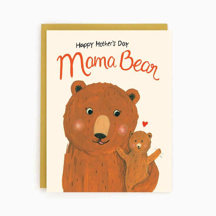 Load image into Gallery viewer, Mama Bear Card