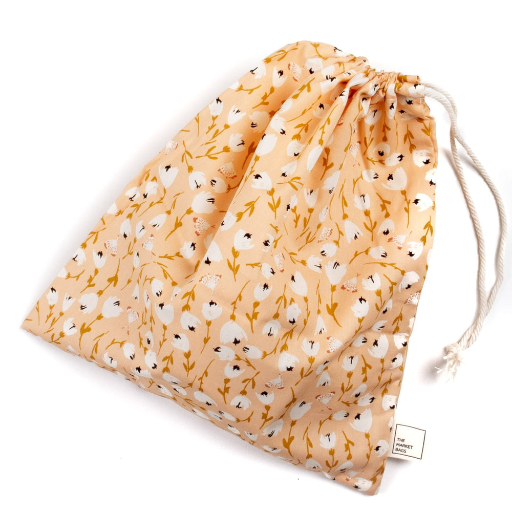 Reusable Produce Bag - Warm Floral