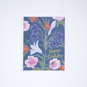 Load image into Gallery viewer, Les Fleurs Birthday Card