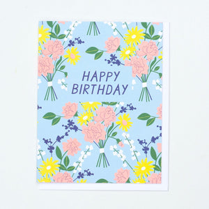 Load image into Gallery viewer, Vintage Bouquet Birthday Card
