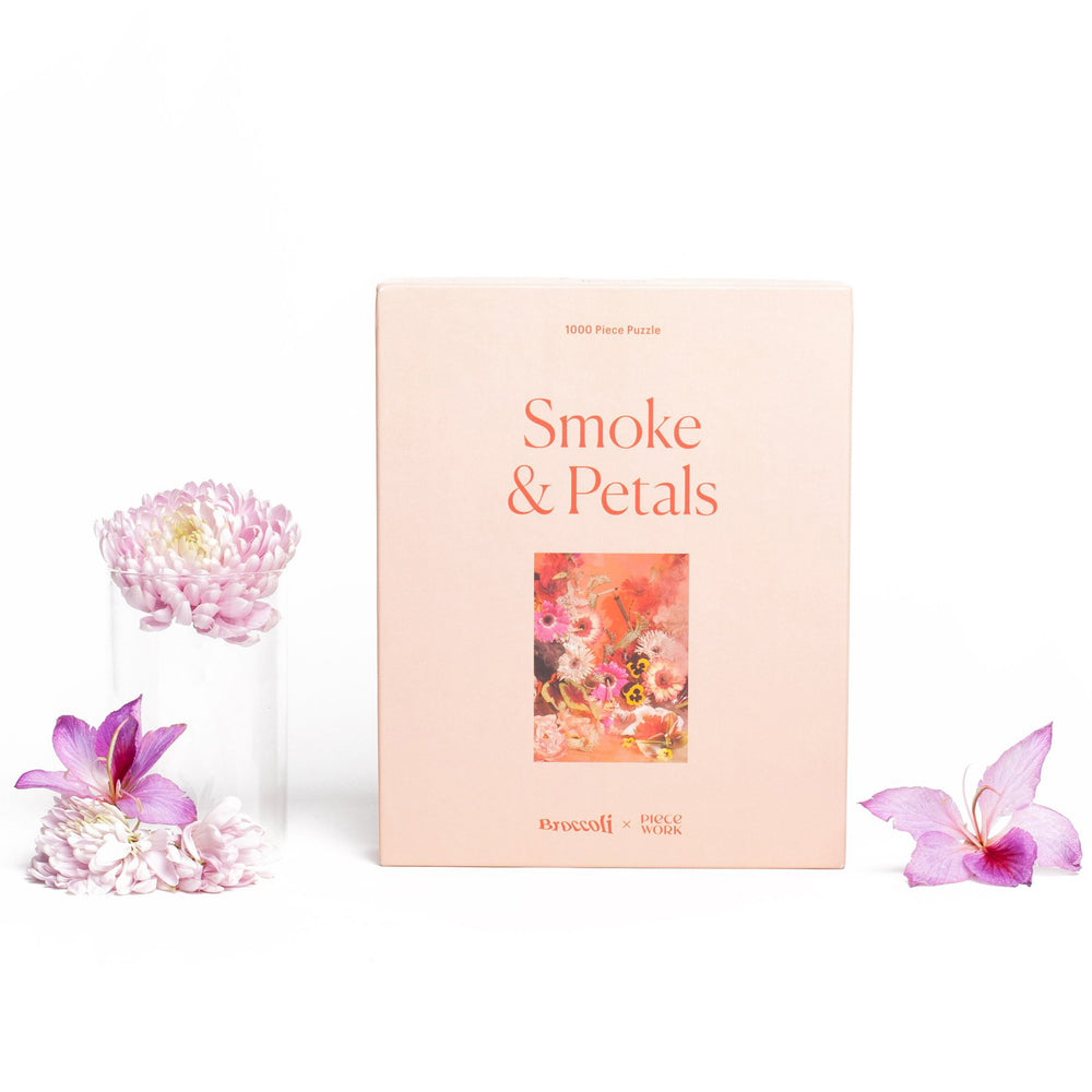 Load image into Gallery viewer, Smoke & Petals Puzzle