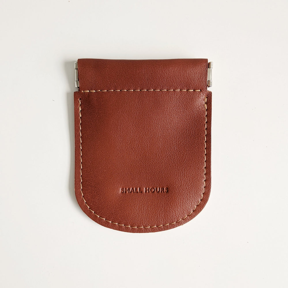 Leather Pinch Pouch