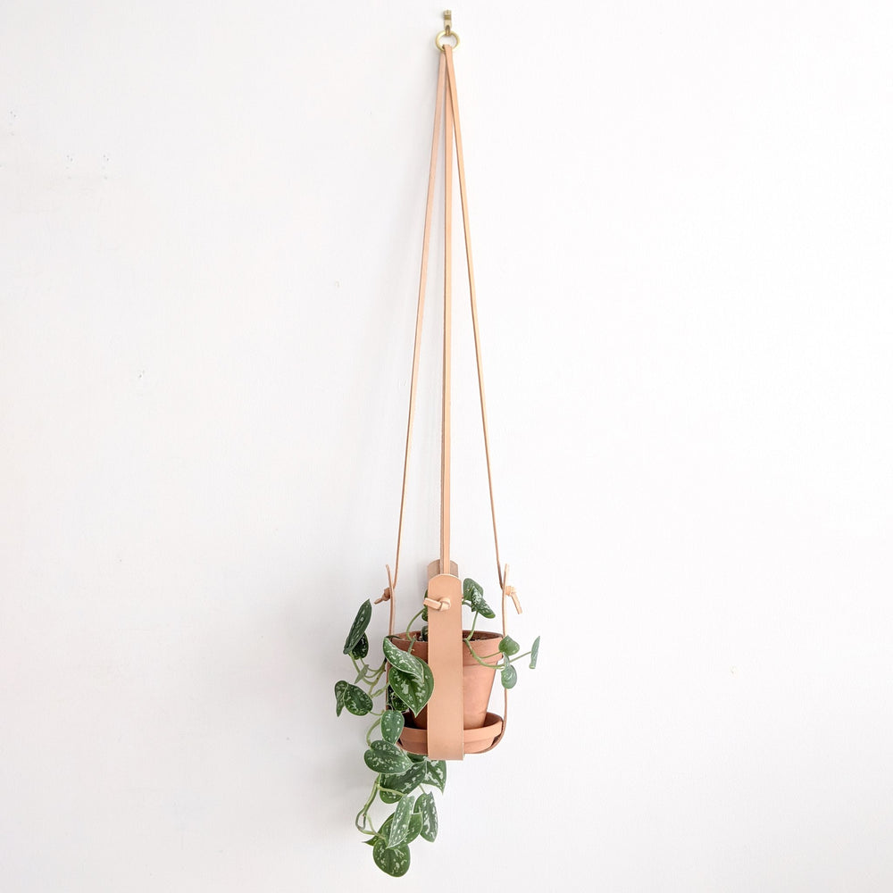 Leather Plant Sling