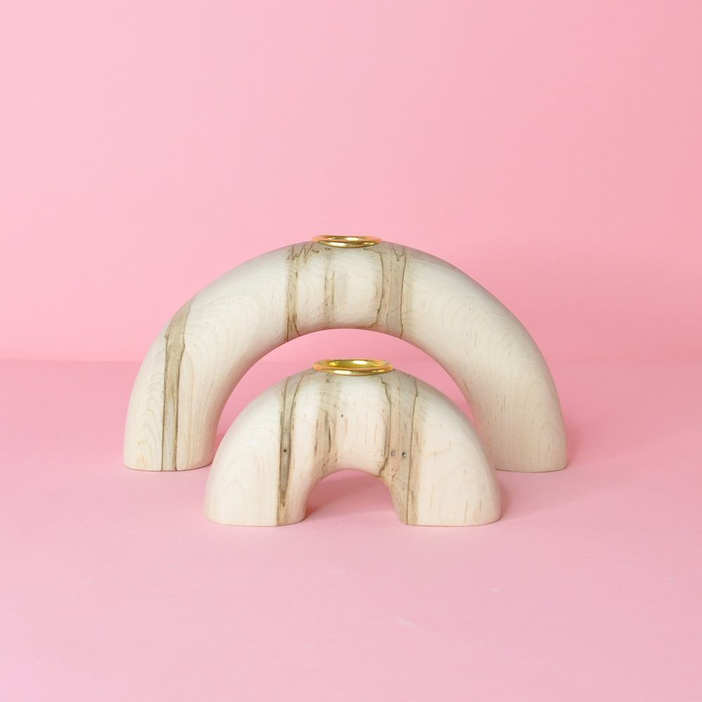 Arches Candle Holder