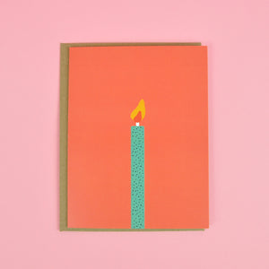 Load image into Gallery viewer, Birthday Candle Card
