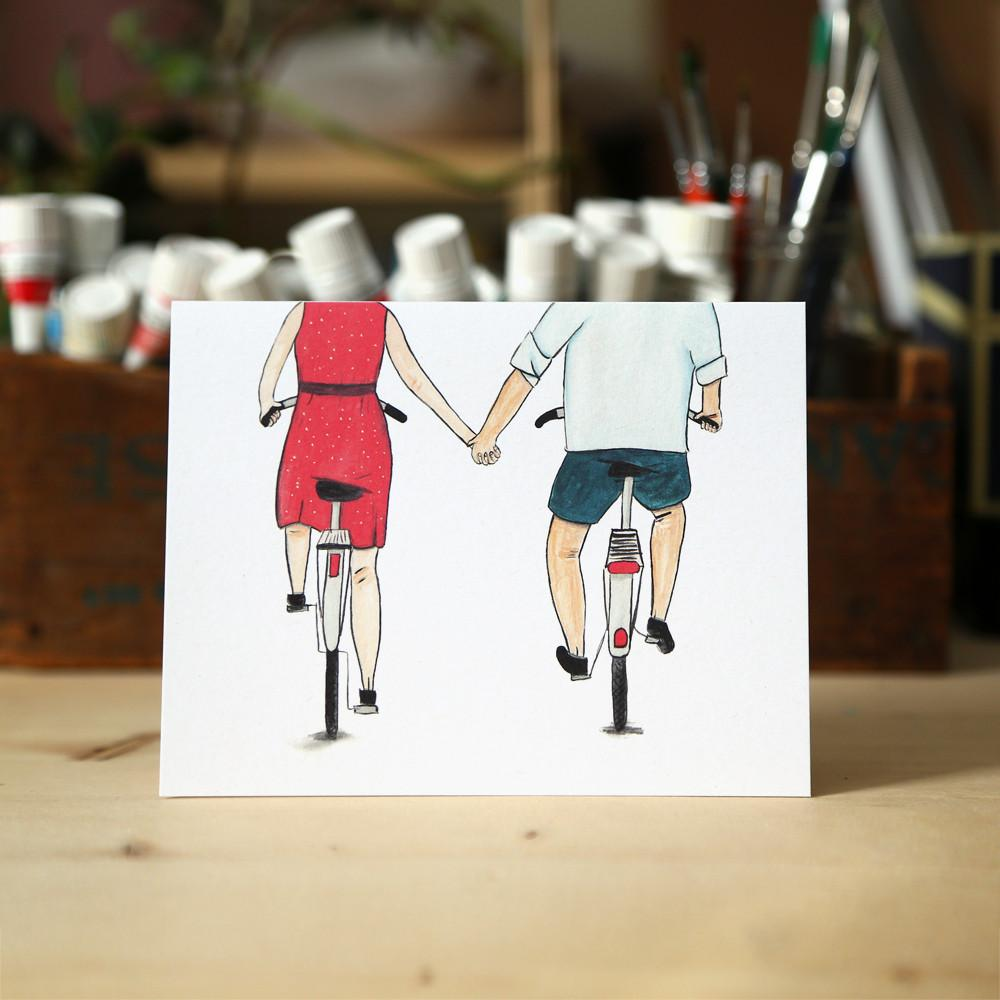 Load image into Gallery viewer, Love Bikes Card