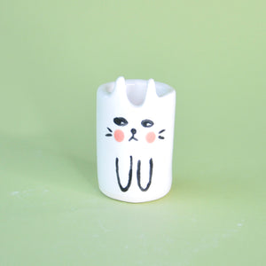 Load image into Gallery viewer, Ceramic Cat Cup