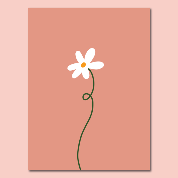 Load image into Gallery viewer, Lazy Daisy Print