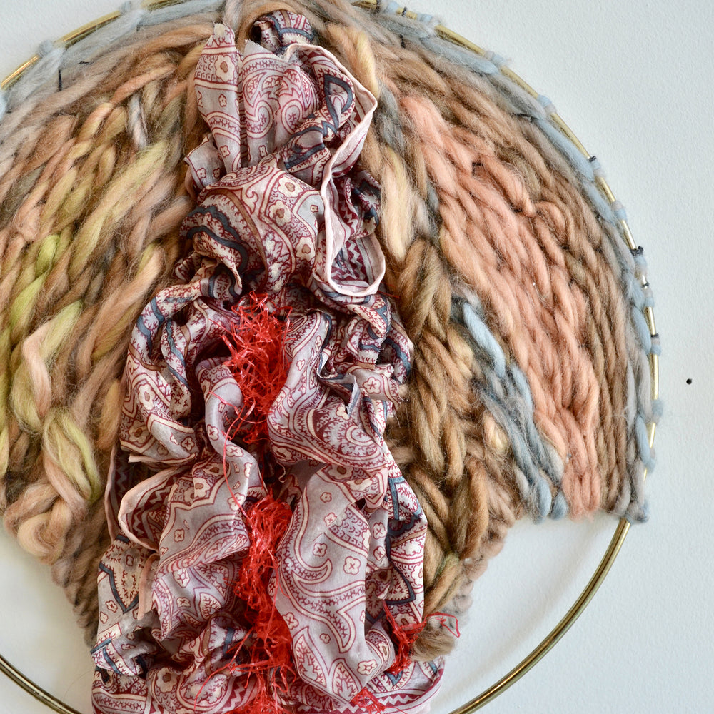 Fibre Art Wall Hanging