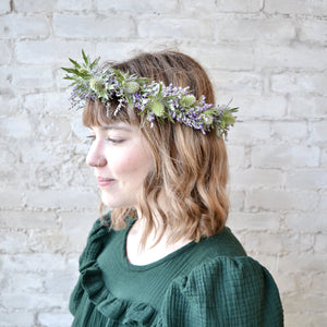 Load image into Gallery viewer, Floral Hair Crown