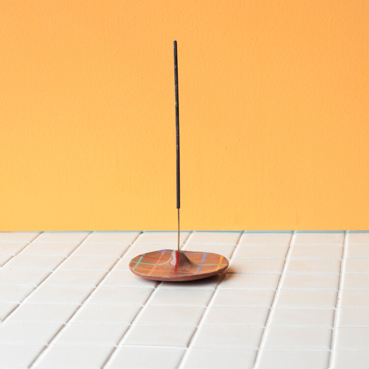 Grid Incense Holder