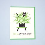 Hosta la Vista Card