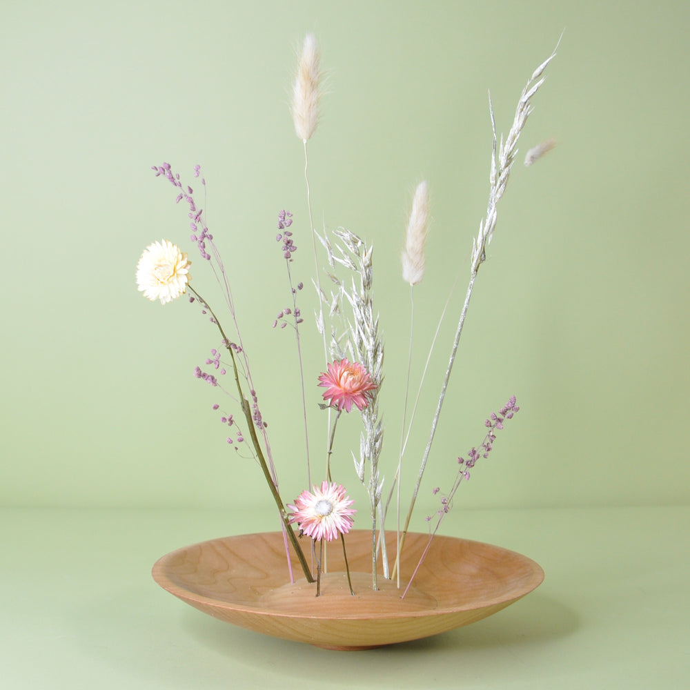 Ikebana Dried Flower Bowl