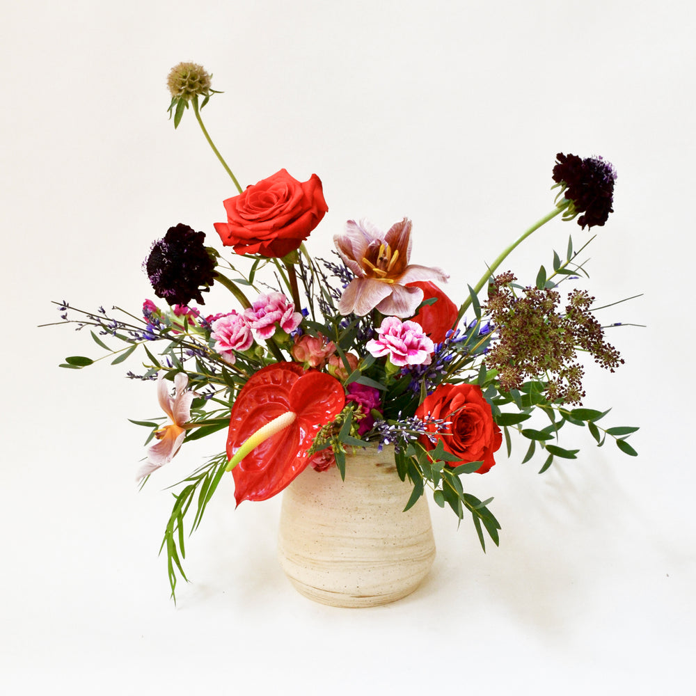 Load image into Gallery viewer, Large Handmade Ceramic Vase Arrangement