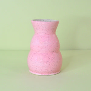 Load image into Gallery viewer, Pink Speckled Vase