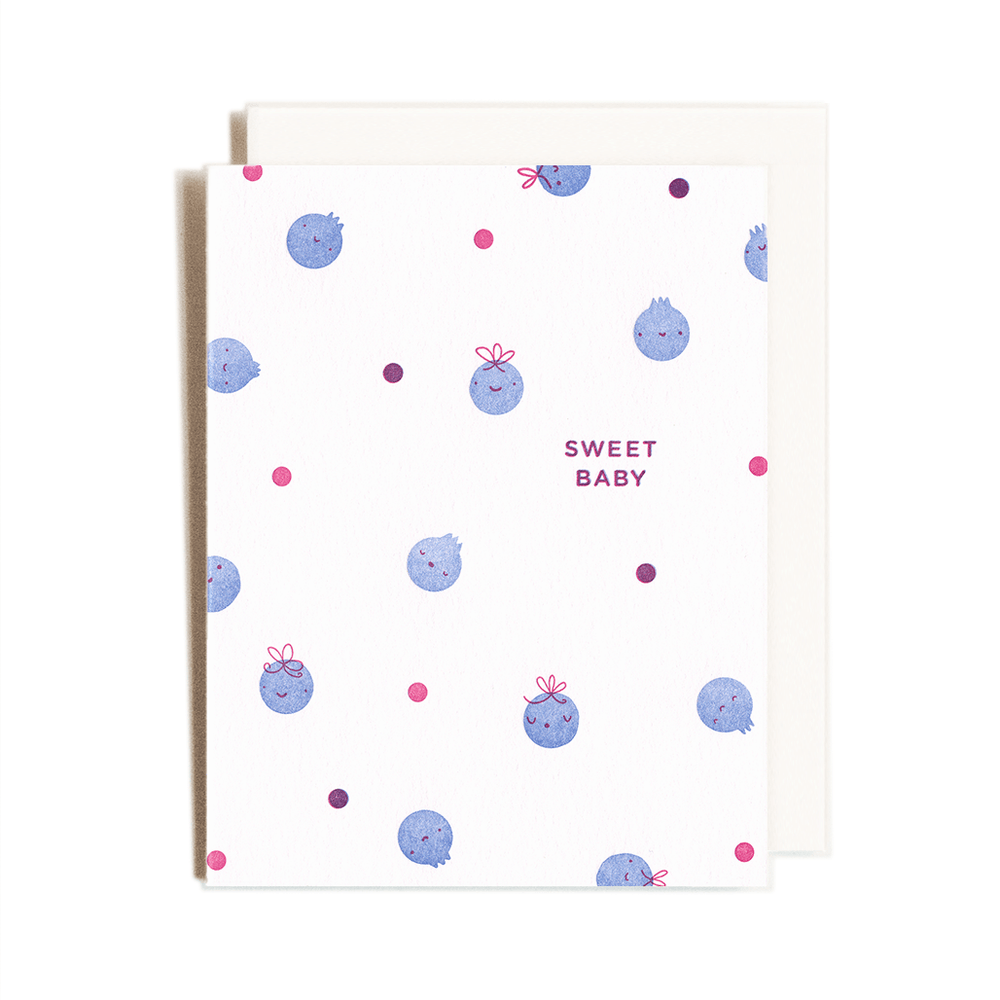 Blueberry Babies Card