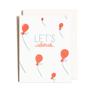 Load image into Gallery viewer, Celebration Balloons Card