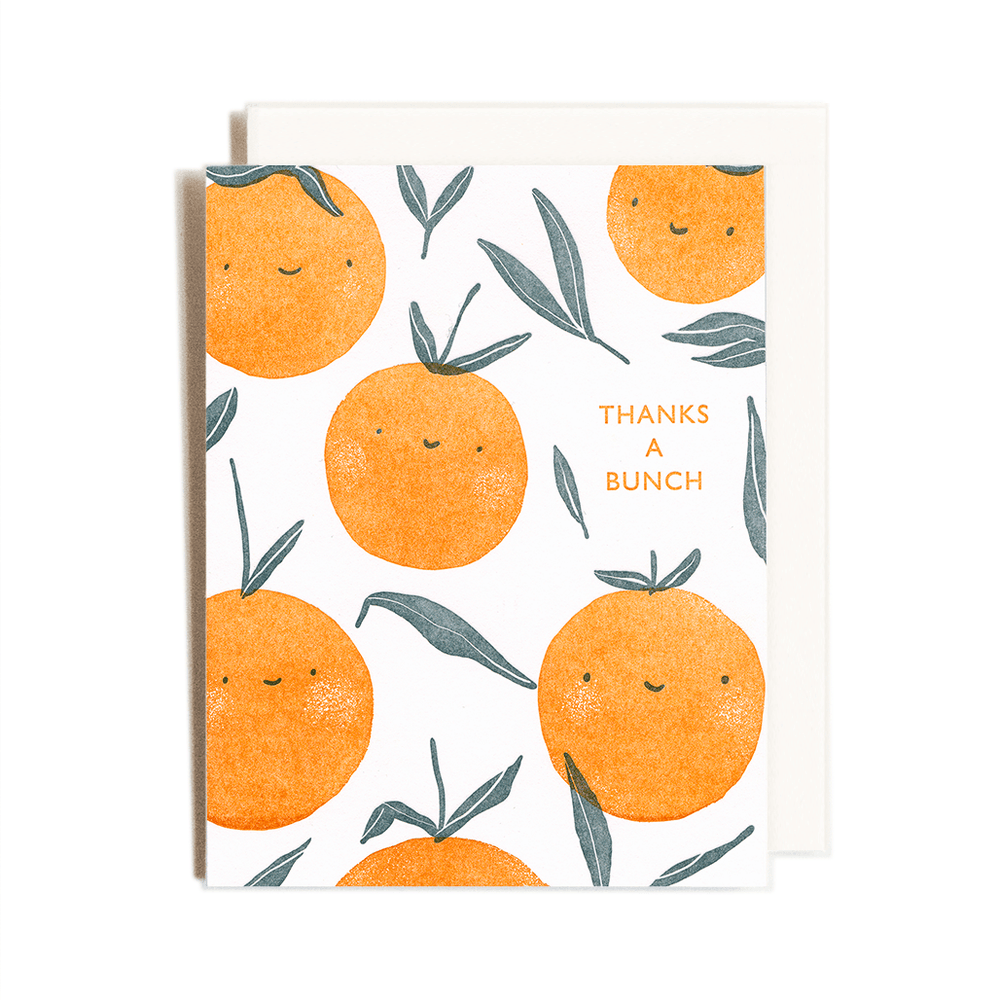 Thank You Oranges Card