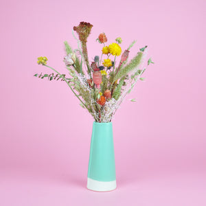 Load image into Gallery viewer, Dried Flower Vase Arrangement