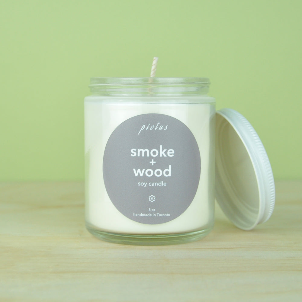 Smoke + Wood Candle