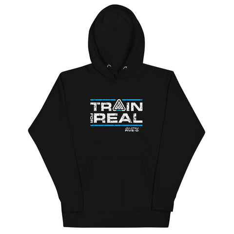 Train For Real // Logo Hoodie